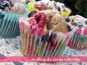 Muffins de Gerds i Mirtils