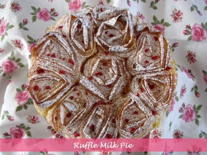 Ruffle Milk Pie